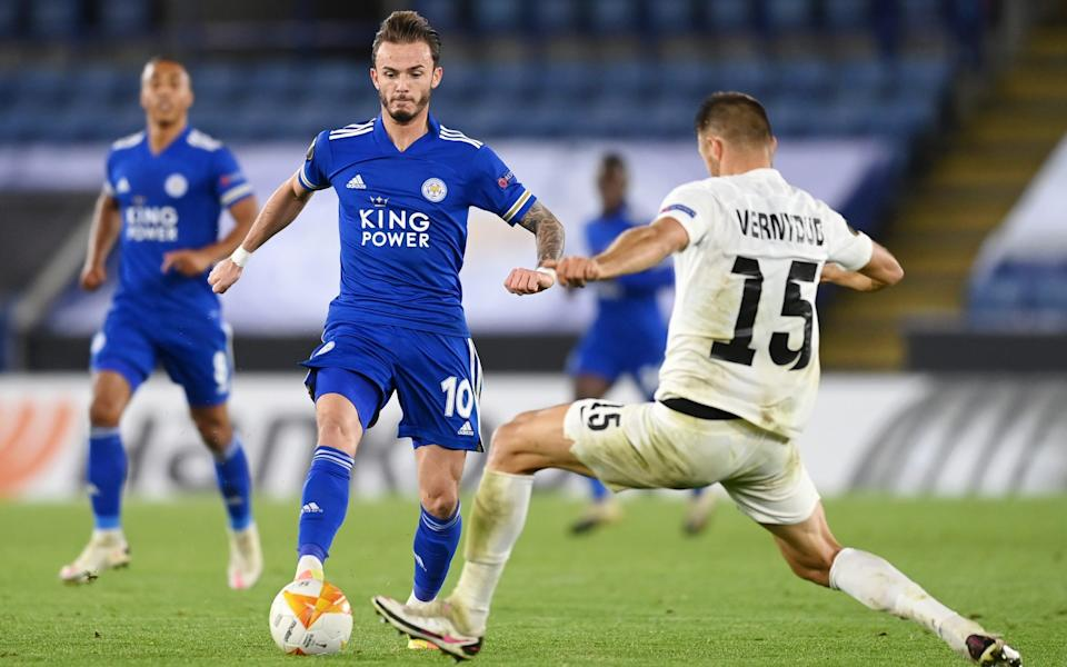 James Maddison and Barnes put in assured performances - GETTY IMAGES