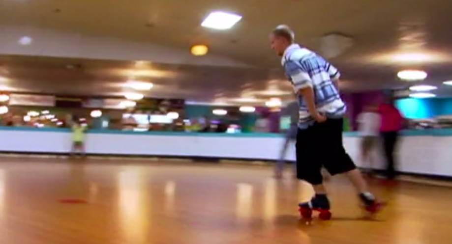 <p>Teenage rollerskating parties! The origin story of all great romances!</p>