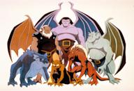 "<p>The Saturday morning classic that terrified a generation, <em>Gargoyles</em> is adventure-packed and rich in lore. There's a character named Macbeth. The Illuminati make an appearance. Like, it's really nerdy and great.</p> <p><a href=""https://cna.st/affiliate-link/HVbFUD9Q9T6sWEMVvRDeSSvMZW5ho6Znbkq7vdfyqFnGKRJmiKomaDWUY7h8ghroRn367EH8VMoiNW2EmazoaxFssqNN3jd7bmyqo9tPJ26BTMrBDhVW?cid=602d2cb9b42508c81e4b2bfc"" rel=""nofollow noopener"" target=""_blank"" data-ylk=""slk:Watch now on Disney+"" class=""link rapid-noclick-resp""><em>Watch now on Disney+</em></a></p>"
