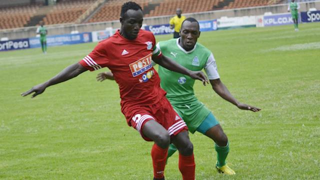The defender missed last weekend's 2-1 defeat against Nzoia Sugar due to suspension after accumulating five yellow cards
