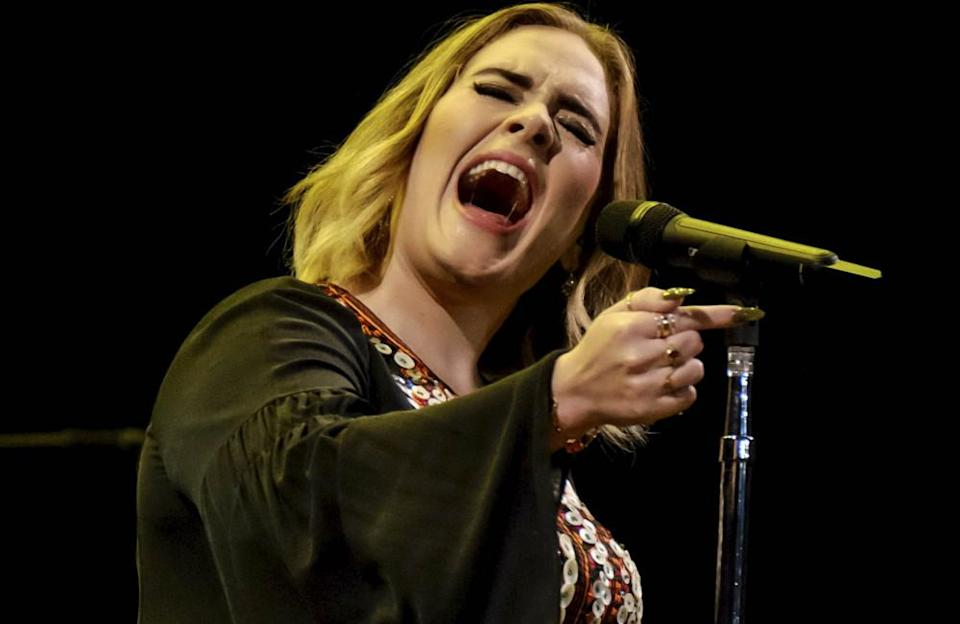 The 2011 track was the first single from Adele's album '21', which reached number one on Billboard Hot 100 where it stayed for seven weeks. She also won Grammys for Record of the Year and Song of the Year.