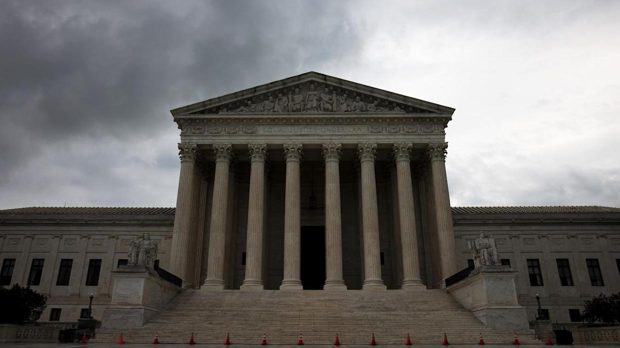 The U.S. Supreme Court is shown on June 22, 2021 in Washington, DC. (Anna Moneymaker/Getty Images)