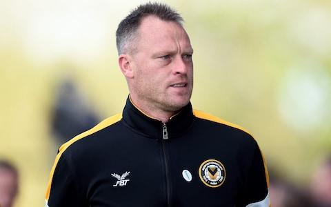 Michael Flynn, manager of Newport County - Credit: Getty Images