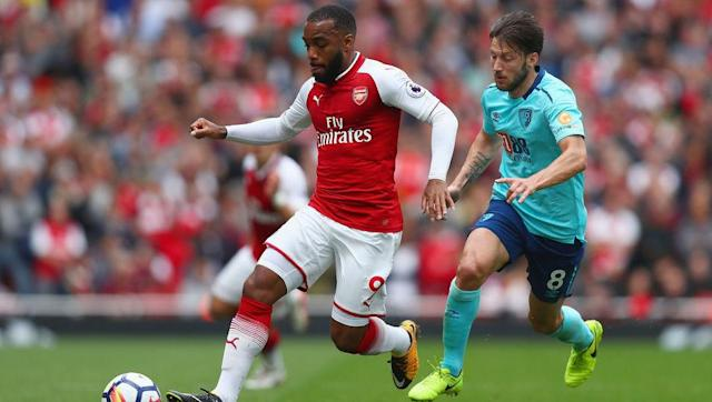 <p>French striker Alexandre Lacazette scored a fine header on his debut against Leicester and will be expected to lead the Gunners' attack on Monday.</p> <br><p>The former Lyon striker has the perfect mix of pace and goals which Arsenal have been missing over the past few years and West Brom centre-back Ahmed Hegazi's lack of pace could prove perfect for Lacazette to attack against.</p> <br><p>However, Hegazi has shown that he is capable in the air and so could nullify Lacazette's heading threat.</p>