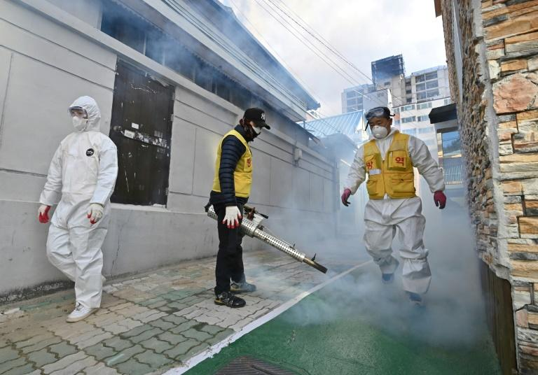 The spread of coronavirus in South Korean has been traced to the Shincheonji Church of Jesus in the city of Daegu