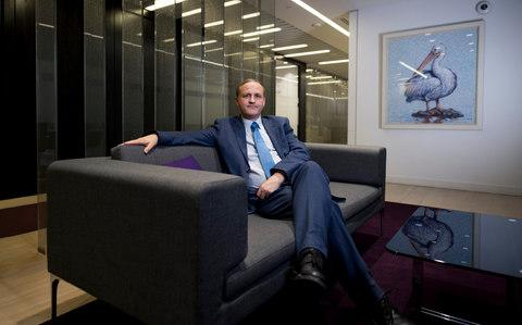 Sir Steve Webb of pension group Royal London - Credit: Geoff Pugh for the Telegraph