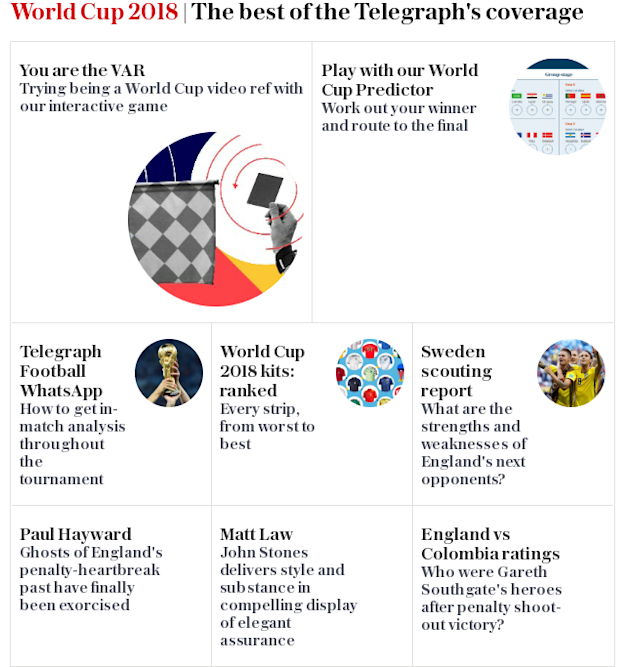 World Cup 2018 | The best of the Telegraph's coverage