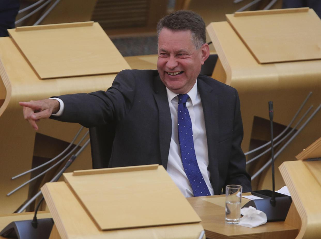 Scottish Conservatives will vote against the appointment of the Greens as ministers, Murdo Fraser said (Fraser Bremner/Scottish Daily Mail/PA)