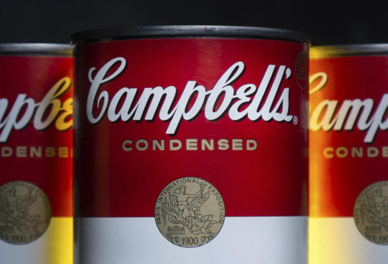 Campbell's earnings will be one of the big corporate news events on Thursday. (AP Photo/J. David Ake, File)