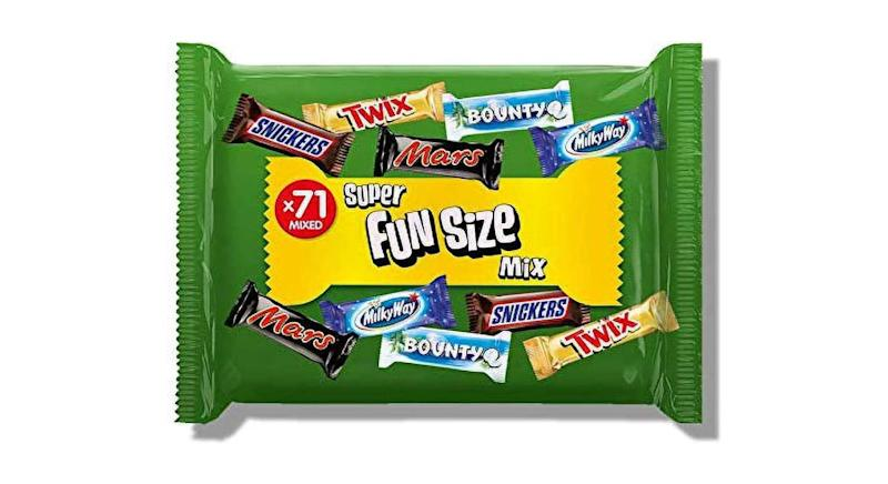 71 Assorted Fun Size Chocolate Bars