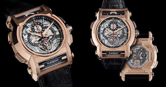 <p>Tick-tock supremos Maîtres du Temps are famous for bringing together some of the most exceptional watchmakers in the world to collaborate on game-changing models – and the 'Chapter One Round Transparence' is the perfect example.</p><p>A mishmash of idiosyncratic design and varying schools of horology (read: watchmaking), the 'Chapter One' is both classic and complex. That's not to mention the 18k red gold case and limited edition engraving that really sets it apart (only 11 models were made).</p><p>At a wallet-demolishing £404,000, it stands out as a much sought-after tribute to the industry's fascinating past and exciting future.</p>