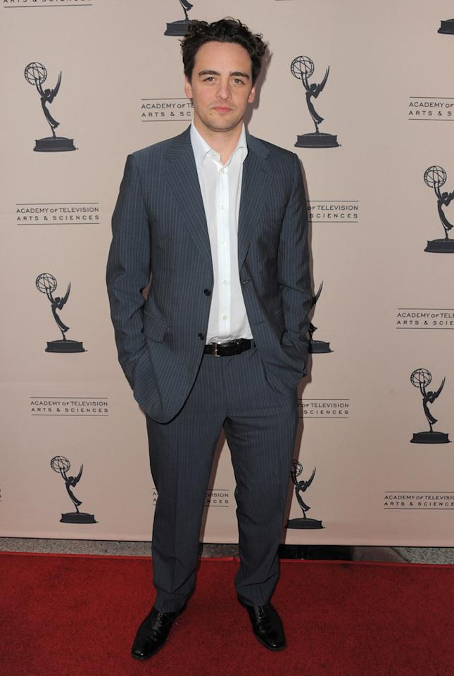 "Vincent Piazza arrives at The Academy of Television Arts & Sciences Presents An Evening With ""<a href=""http://tv.yahoo.com/boardwalk-empire/show/41428"">Boardwalk Empire</a>"" event at Leonard H. Goldenson Theatre on April 26, 2012 in North Hollywood, California."