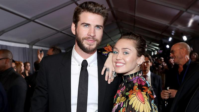 Liam Hemsworth Gives Miley Cyrus a Personalized Necklace for Her Birthday: 'Killin the Game Already'