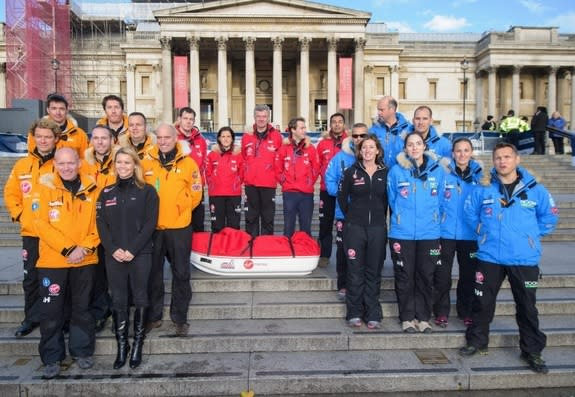 Military Vets & Celebrities Embark on Epic Race to the South Pole
