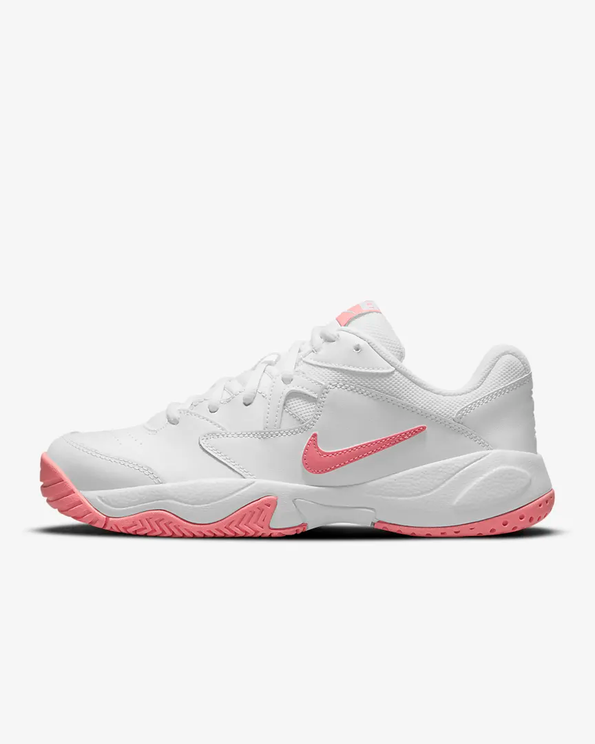 """<h2>Tennis Sneakers</h2><br>Wearing proper tennis footwear is key. Whereas running shoes are built to get you moving (primarily) straight forward, tennis shoes are made to help you hustle from front to back, side to side, up and down, and skidding across. Off the court, then can be worn with your new tennis ensemble or paired with jeans for a comfy weekend look. <br><br><strong>Nike</strong> NikeCourt Lite 2, $, available at <a href=""""https://go.skimresources.com/?id=30283X879131&url=https%3A%2F%2Fwww.nike.com%2Ft%2Fnikecourt-lite-2-womens-hard-court-tennis-shoes-7xRJLc%2FAR8838-116"""" rel=""""nofollow noopener"""" target=""""_blank"""" data-ylk=""""slk:Nike"""" class=""""link rapid-noclick-resp"""">Nike</a>"""