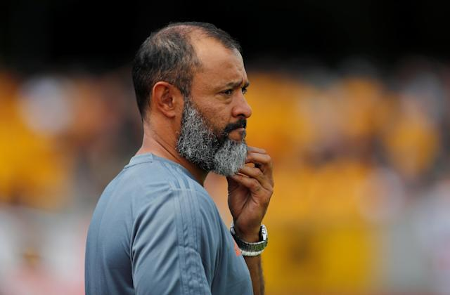 Soccer Football - Uhrencup - BSC Young Boys v Wolverhampton Wanderers - Stadion Neufeld, Bern, Switzerland - July 14, 2018 Wolverhampton Wanderers manager Nuno Espirito Santo before the match REUTERS/Stefan Wermuth