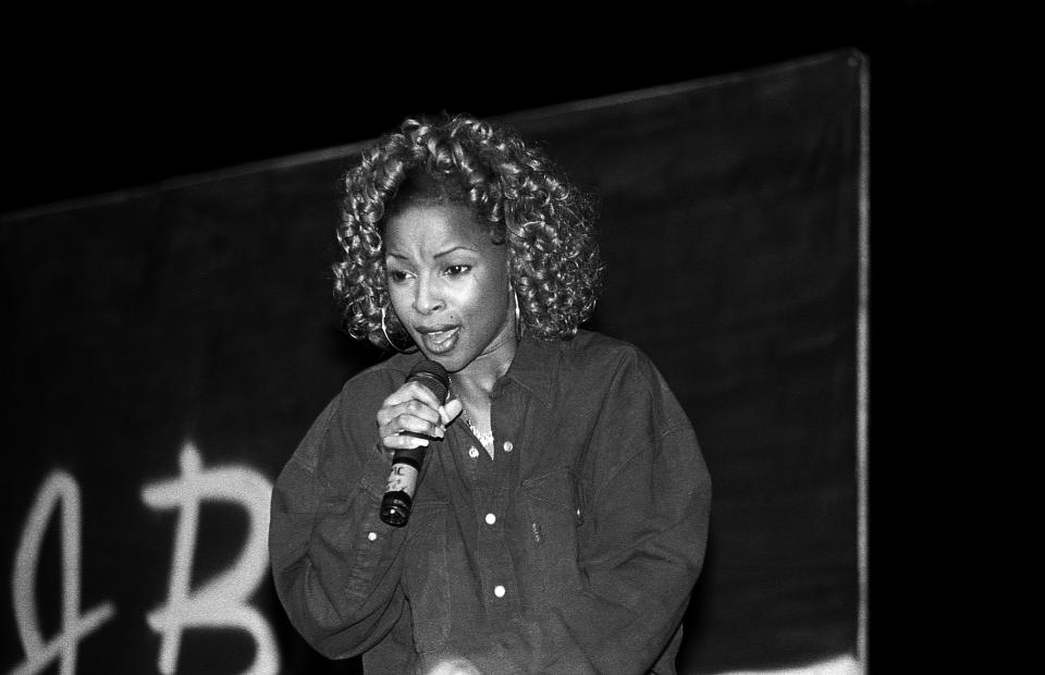 Mary J. Blige in 1992. (Photo: Raymond Boyd/Getty Images)