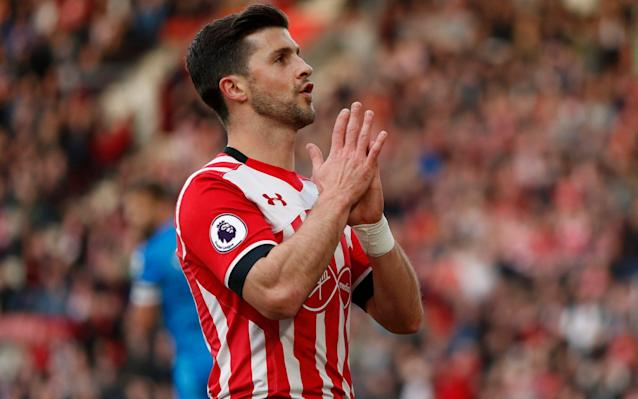 <span>Shane Long misses a golden opportunity</span> <span>Credit: REUTERS </span>