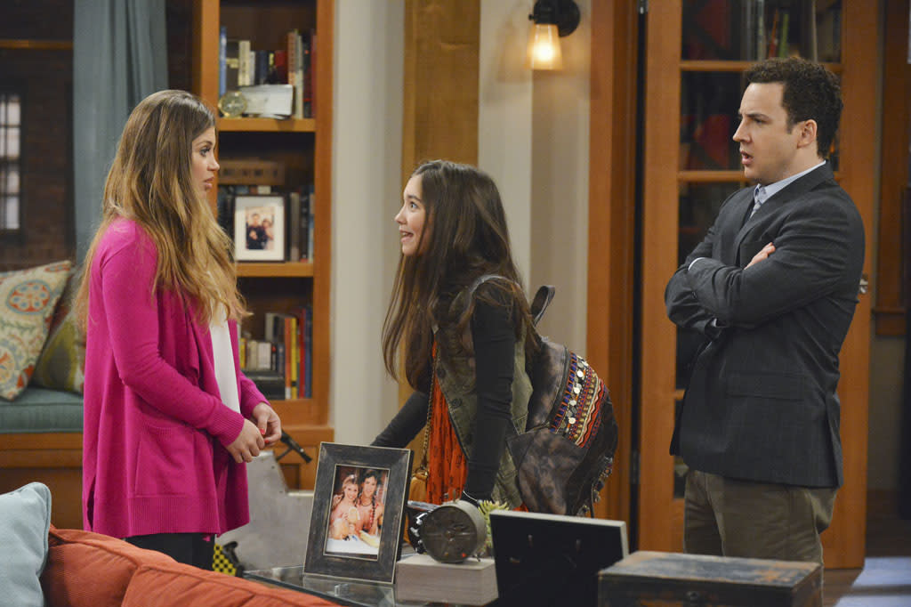"""Rowan Blanchard stars as Riley Matthews. Danielle Fishel and Ben Savage reprise the """"Cory and Topanga"""" roles they made famous in ABC's hugely popular sitcom """"Boy Meets World"""""""