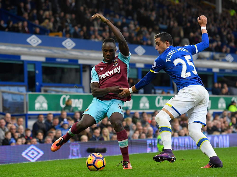 Everton and West Ham go head to head at the London Stadium: Getty