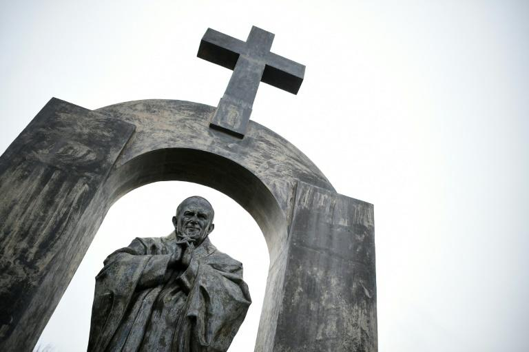 France's top administrative court ruled that the cross on the statue of Pope John Paul II in Brittany must be removed