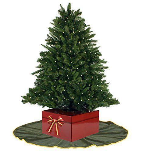 "<p><strong>Christmas Tree Box</strong></p><p>amazon.com</p><p><strong>$19.99</strong></p><p><a href=""http://www.amazon.com/dp/B01L7S5YMW/?tag=syn-yahoo-20&ascsubtag=%5Bartid%7C10050.g.28746492%5Bsrc%7Cyahoo-us"" rel=""nofollow noopener"" target=""_blank"" data-ylk=""slk:Shop Now"" class=""link rapid-noclick-resp"">Shop Now</a></p><p>Lightweight so you can easily move it for watering, this inexpensive, festive gift box is adorable and folds flat for storage. </p>"