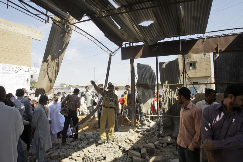 Pakistani TV anchor survives attempted bombing