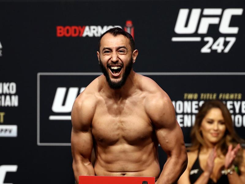 Blachowicz' opponent Dominick Reyes has a record of 12-1Getty Images