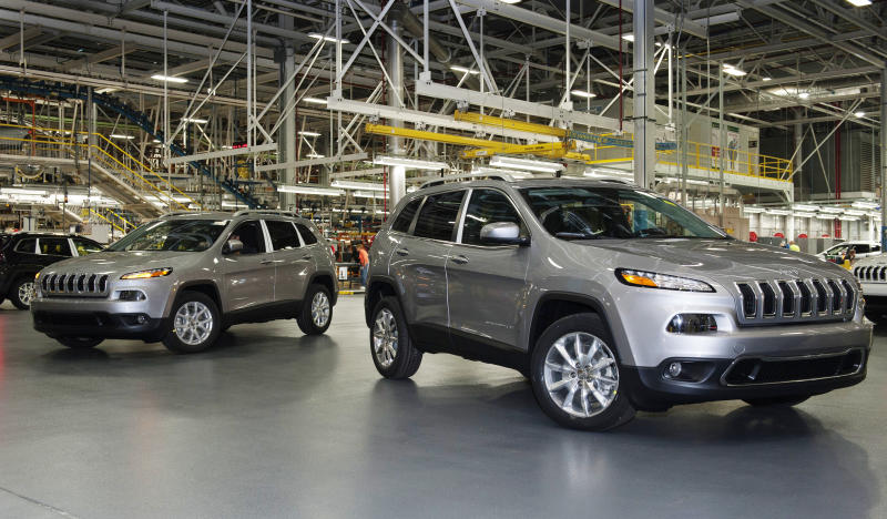 The Chrysler Toledo Assembly Complex used to produce Jeep Cherokee in Toledo