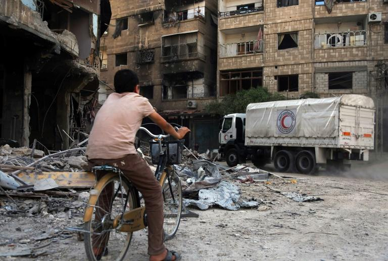 Red Crescent worker wounded in Damascus attack on aid convoy - ICRC