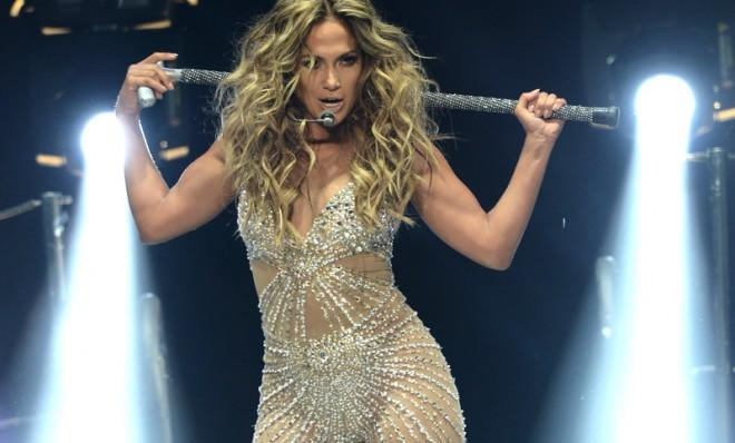 The curve on a graph of a security reaching a low and then gradually improving mimics the curve of Jennifer Lopez's...