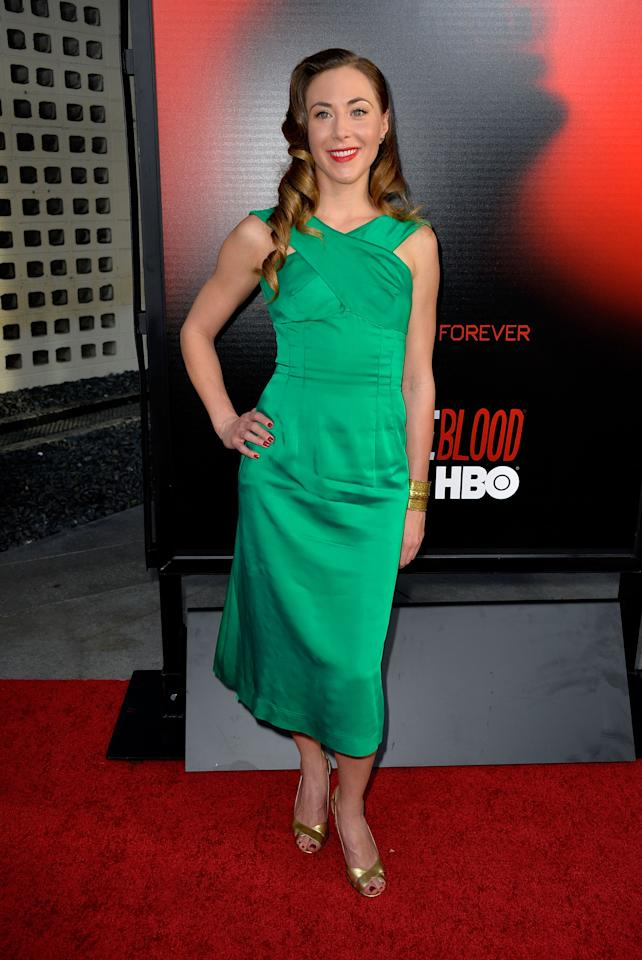 HOLLYWOOD, CA - JUNE 11:  Actress Bonnie Kathleen Ryan attends the premiere of HBO's 'True Blood' Season 6 at ArcLight Cinemas Cinerama Dome on June 11, 2013 in Hollywood, California.  (Photo by Frazer Harrison/Getty Images)