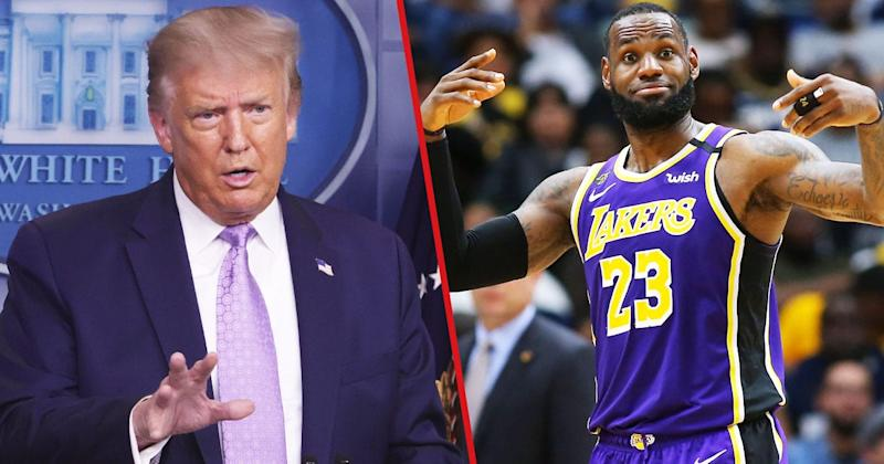 LeBron Says NBA Couldn't 'Care Less' If They Lose Trump As A Viewer