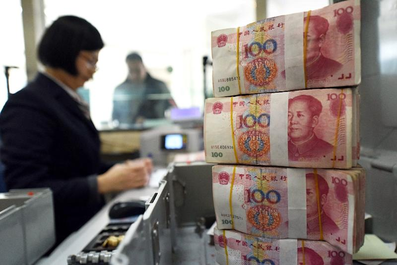 The People's Bank of China has set the value of the yuan at 6.4943 to $1.0, weakening 0.59 percent from the fix of 6.4565 the previous day