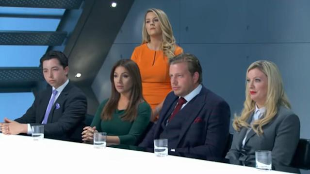 'The Apprentice' fans couldn't believe their eyes when they spotted a seemingly lifeless man lying on the floor of the boardroom during the BBC show's most recent episode.