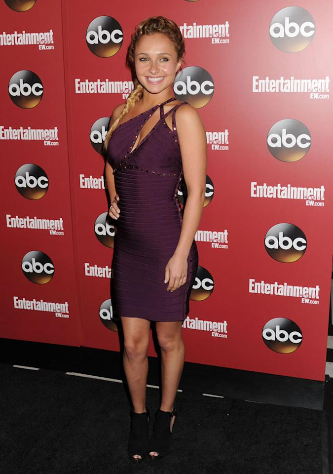 "Hayden Panettiere (""Nashville"") attends the Entertainment Weekly & ABC 2013 New York Upfront Party at The General on May 14, 2013 in New York City."
