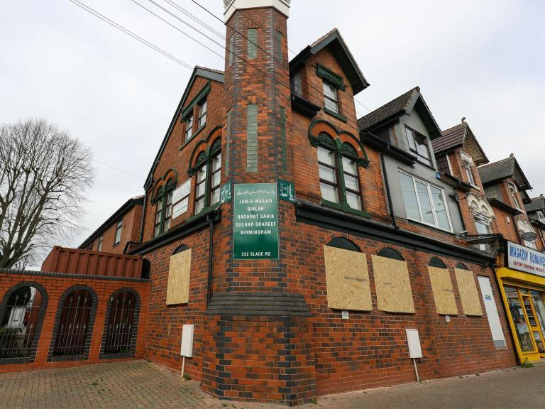 Birmingham mosque attack: Counter-terror police called in to investigate incidents at Muslim places of worship across city