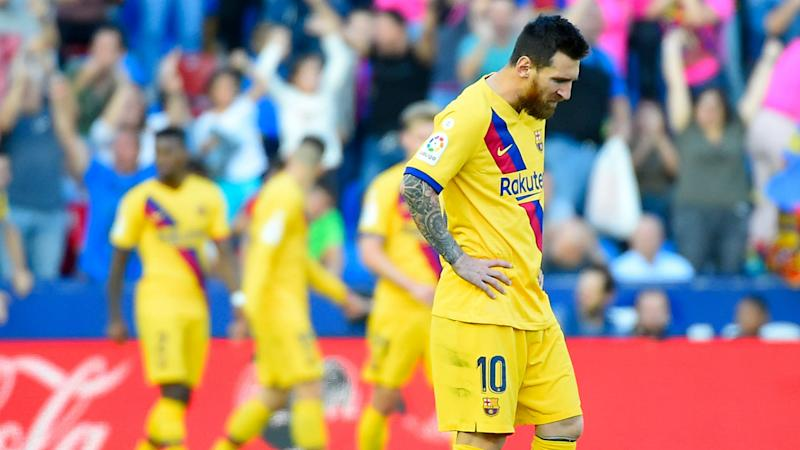 Levante 3-1 Barcelona: La Liga leaders fall to defeat at Levante