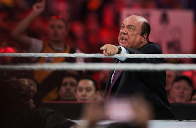 Paul Heyman wants wrestling fans to support the local wrestling promoter during WrestleMania week. (AP Images)