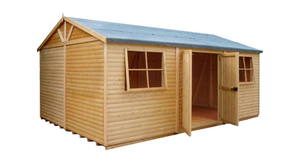 Shire Mammoth 15x10 Apex Wooden Workshop
