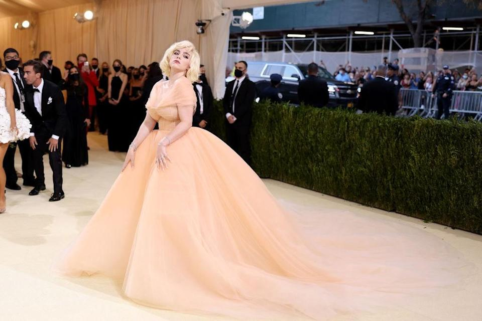"""<h1 class=""""title"""">The 2021 Met Gala Celebrating In America: A Lexicon Of Fashion - Arrivals</h1><cite class=""""credit"""">John Shearer</cite>"""