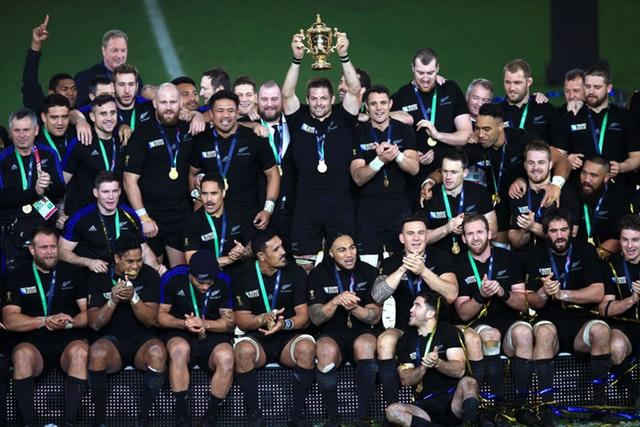 Williams was part of the All Blacks squad that won the 2015 World Cup (Mike Egerton/PA)