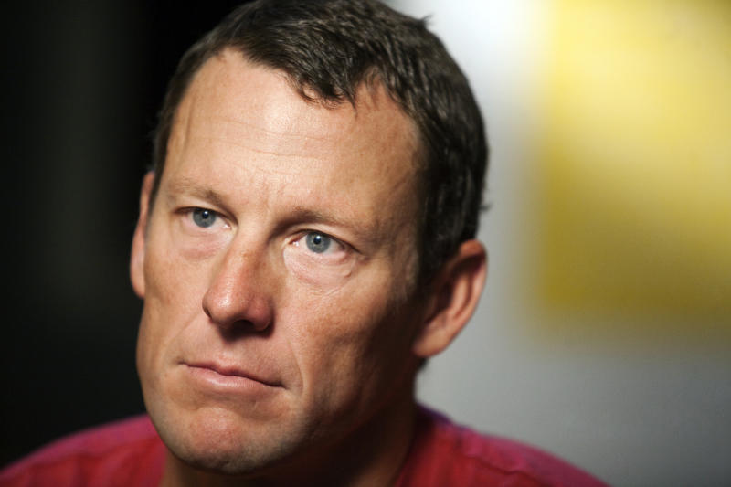 <p> FILE - In this Feb. 15, 2011, file photo, Lance Armstrong pauses during an interview in Austin, Texas. Armstrong has given sworn testimony naming several people he says knew about his performance-enhancing drug use. (AP Photo/Thao Nguyen, File) </p>
