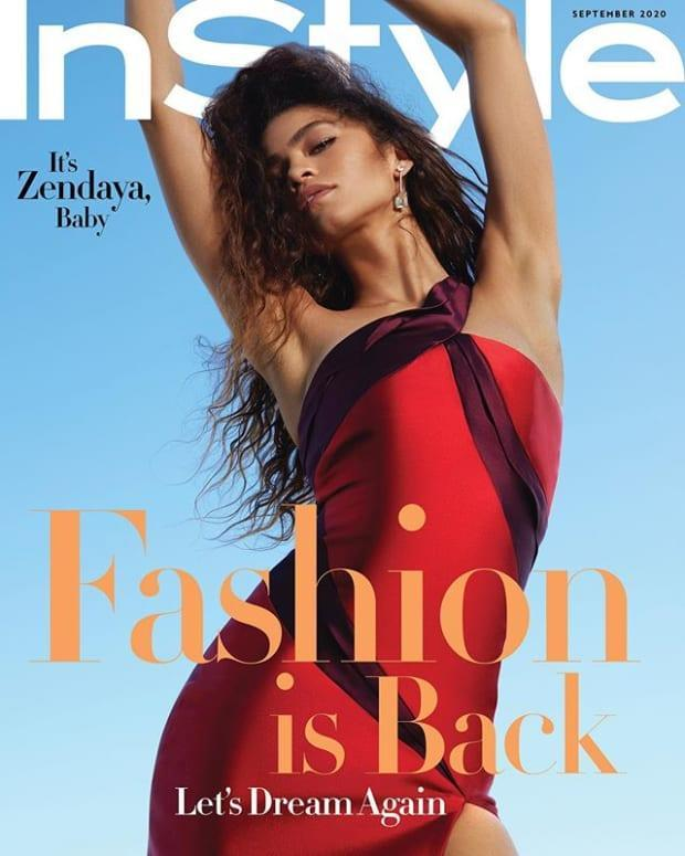 InStyle's September 2020 issue.
