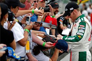 Earnhardt opens up on fame, 2011 and … kids?