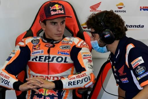 Marc Marquez was forced to cut short his comeback in Jerez last month after fracturing his arm in the season-opener