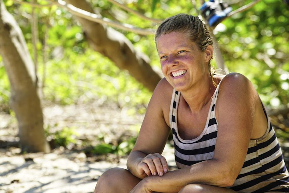 Sunday appeared on the 33rd season of Survivor, which was nicknamed Millennials vs. Gen X, with 10 contestants born before 1982 and 10 born after 1984. Photo: Getty