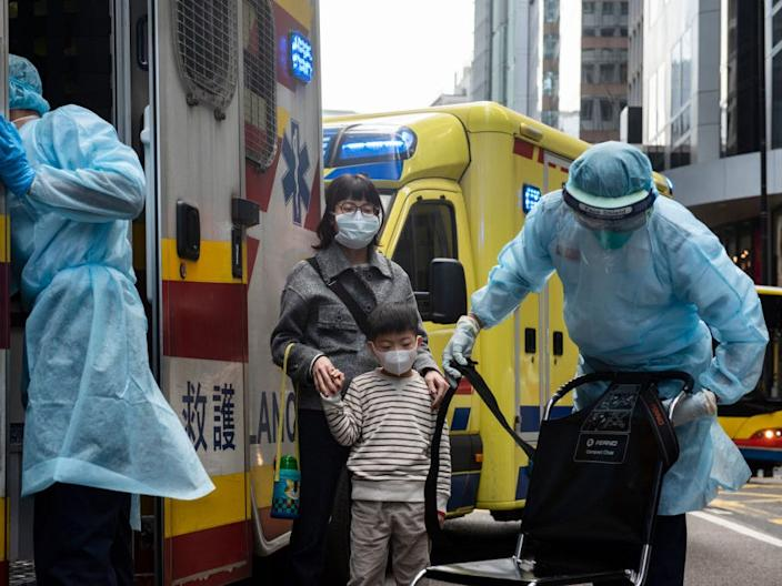 china wuhan masks virus