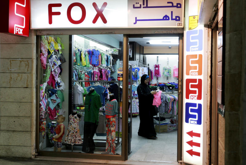 Israeli store opening focuses West Bank anger