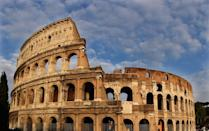 With the famed Colosseum and a country known for its food, Italy emerges as the eigth highest spender with <b>$28 billion</b> and sees 46 million tourists. Italy contains the most number of World Heritage Sites than any other country. (Photo: Getty Images)